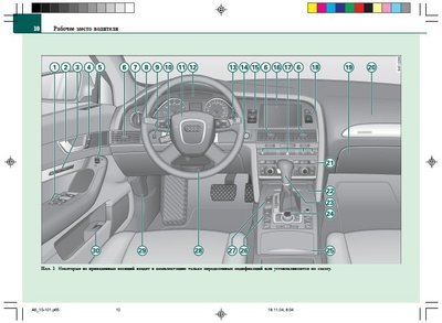 эксплуатация Audi A6 C6 скачать инструкцию