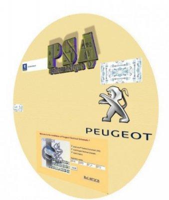 PSA Schematique: сборник электросхем Peugeot 1996-2007 год выпуска