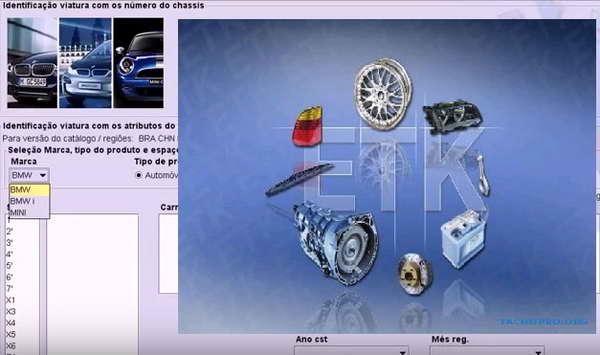 BMW ETK (ver 9-2017): скачать каталог запчастей, аксессуаров БМВ