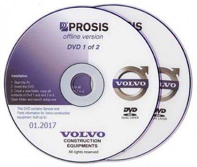 Volvo PROSIS (01.2017): скачать электронный каталог запасных частей спецтехники Вольво