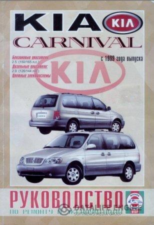 Kia Carnival (с 1999 года): ремонтное руководство