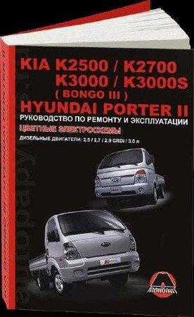Kia Bongo 3: Руководство по ремонту и эксплуатации