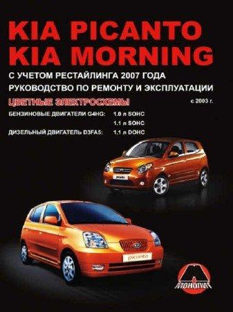 Kia Morning / Picanto (с 2003 года): ремонтное руководство