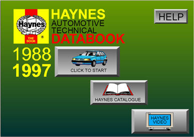 Haynes automotive technical databook
