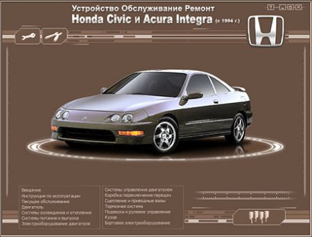 [HONDA Civic ACURA Integra] (с 1994)