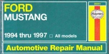 Ford Mustang. Haynes Automotive Repair Manual