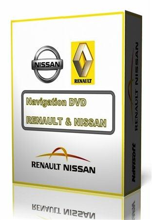 Navigation DVD – RENAULT & NISSAN v.30 [Europe Map] (2010-2011)