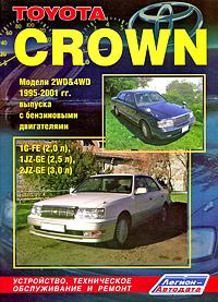 Toyota Crown. Модели 2WD & 4WD 1995-2001г.