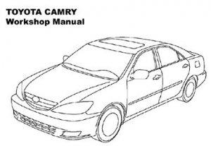 Toyota Camry 2002-2006.Workshop Manual .