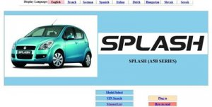 Suzuki Splash Service manual.