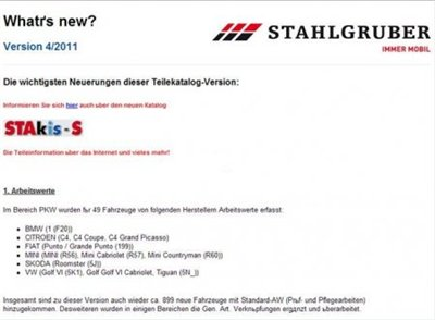 ATRis Stahlgruber catalogue - 4 квартал 2011 (ATRIS Stahlgruber + ATRIS Technik)