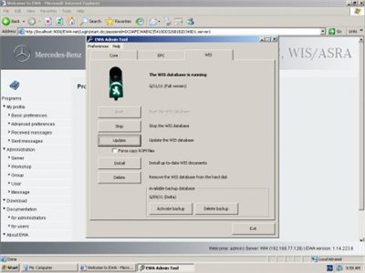 MERCEDES-BENZ WIS/ASRA 11.2011 [Full version] ver.1.14.223.6