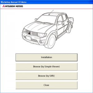 Mitsubishi L200. Workshop Manual 2012.