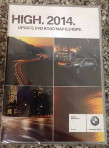 Диск навигации NAVTEQ BMW Road Map Europe HIGH 2014 RUS SL + Спидкамы