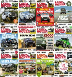 """Land Rover Monthly"" номера журнала за 2016 год"